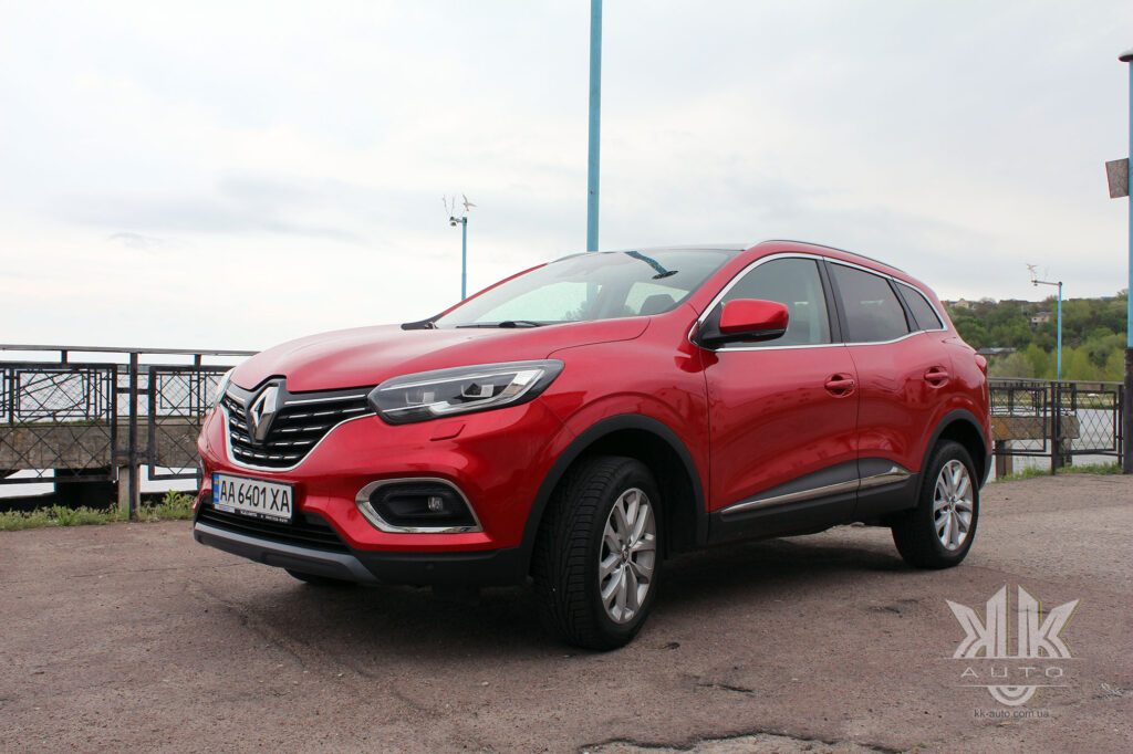 Тест-драйв Renault Kadjar, Kadjar Qashqai