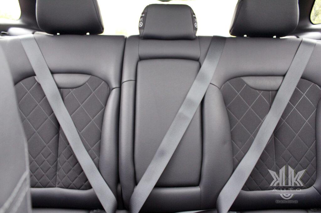 Тест-драйв Renault Kadjar, паски безпеки