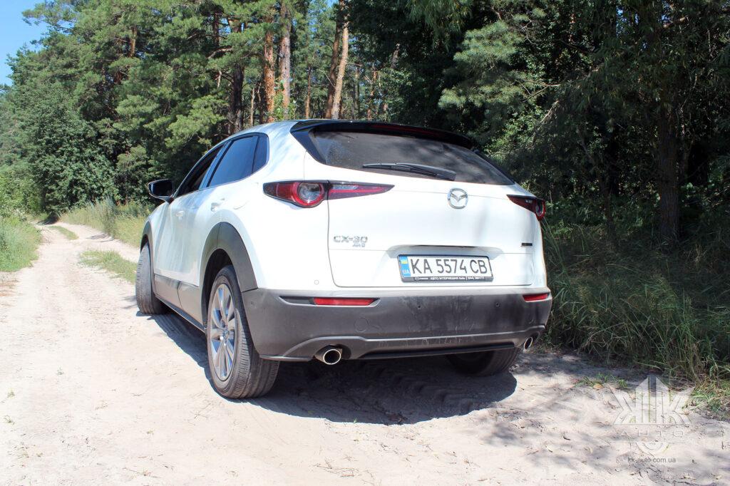 Тест-драйв Mazda CX-30, Mazda C30