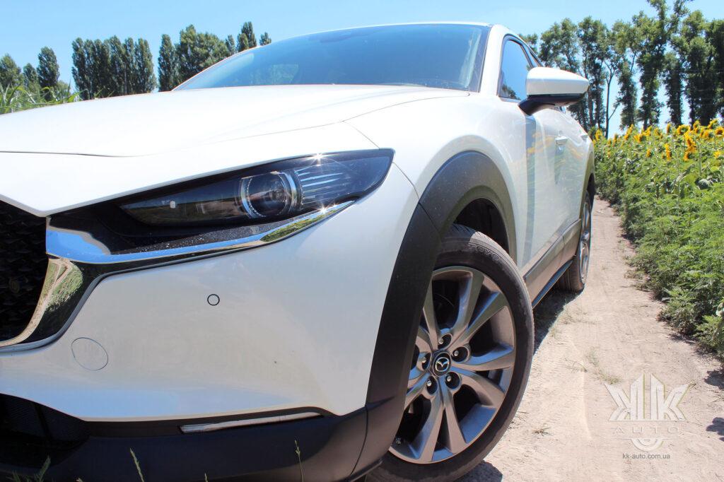 Тест-драйв Mazda CX-30, new Mazda CX 30