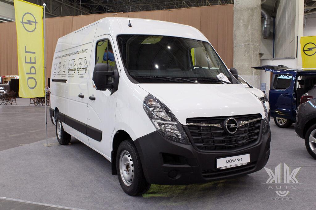 комерційні авто, Opel Movano