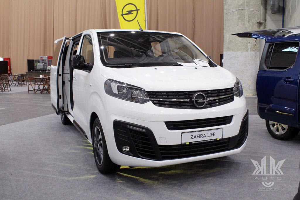 комерційні авто, Opel Zafira 2020