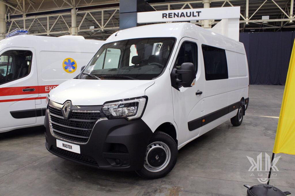 комерційні авто, Renault Master 2020