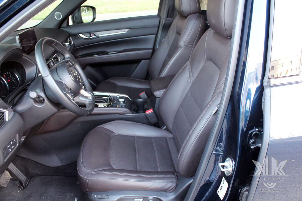 тест-драйв Mazda CX-5, Mazda ZX5