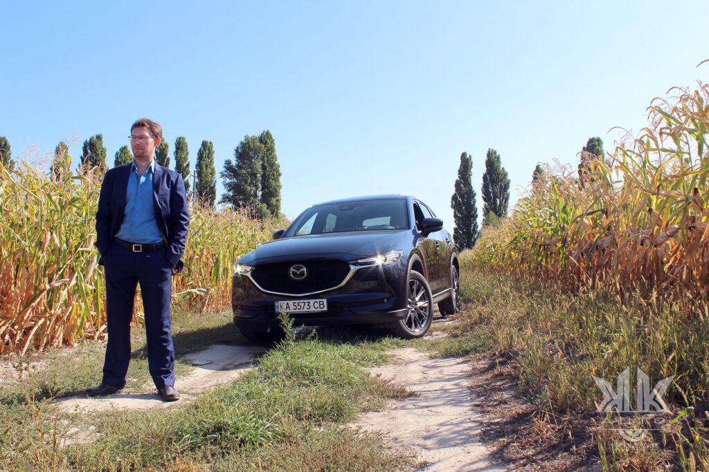 тест-драйв Mazda CX-5, Mazda 5X