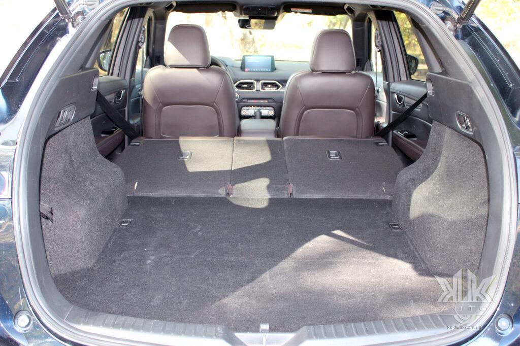 тест-драйв Mazda CX-5, Mazda C5X