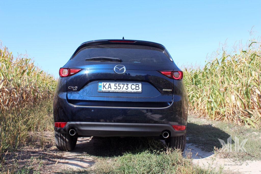 тест-драйв Mazda CX-5, Mazda CX