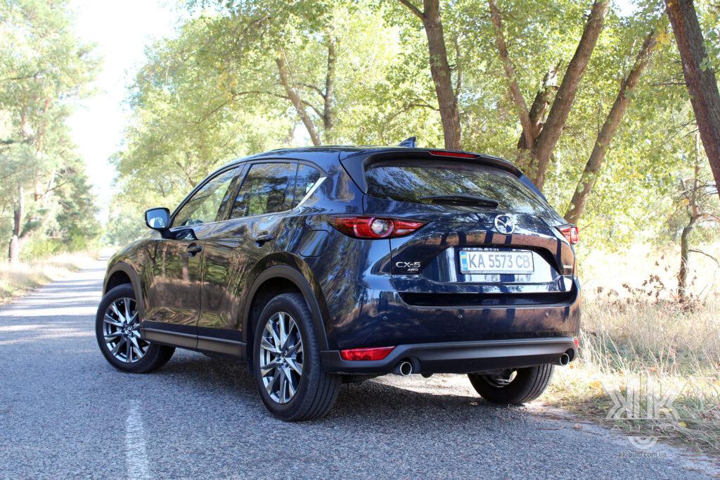тест-драйв Mazda CX-5, V CX