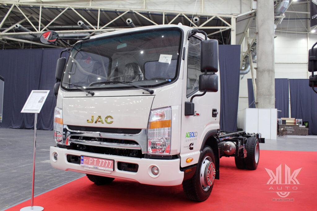 комерційні автомобілі, JAC N80